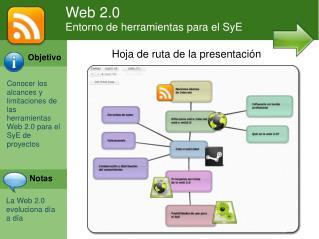 Web 2.0 Entorno de herramientas para el SyE