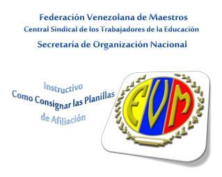 Federación Venezolana  de  Maestros