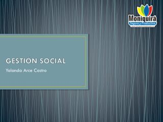 GESTI�N SOCIAL