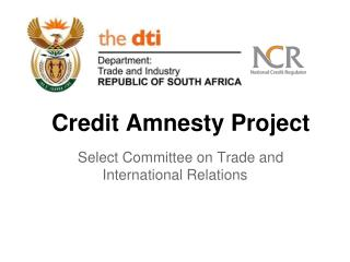 Credit Amnesty Project