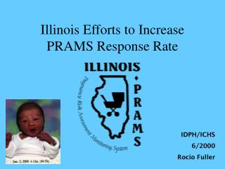 Illinois Efforts to Increase PRAMS Response Rate
