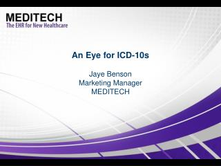 An Eye for ICD-10s