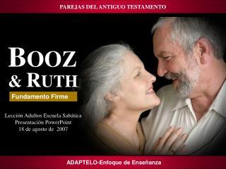 PAREJAS DEL ANTIGUO TESTAMENTO