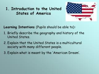 1. Introduction to the United States of America