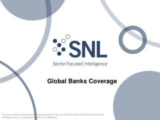 Global Banks  Coverage