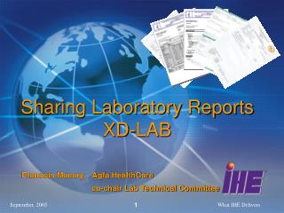Sharing Laboratory Reports XD-LAB
