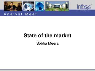 State of the market Sobha Meera