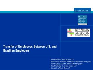Transfer of Employees Between U.S. and Brazilian Employers