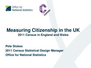 Measuring Citizenship in the UK 2011 Census in England and Wales