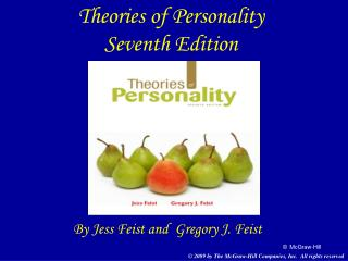 Theories of Personality Seventh Edition