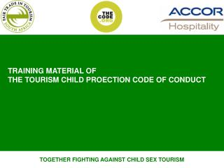TOGETHER FIGHTING AGAINST CHILD SEX TOURISM