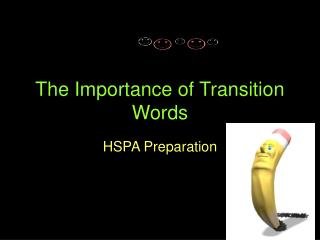 The Importance of Transition Words