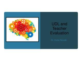 UDL and Teacher Evaluation