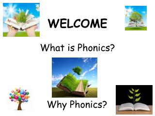 WELCOME What is Phonics?