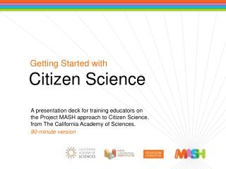 Getting Started with Citizen Science