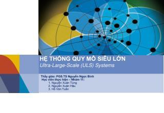 Thầy giáo: PGS.TS Nguyễn Ngọc Bình  Học viên thực hiện – Nhóm 11: 1. Nguyễn Xuân Tùng