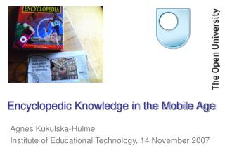 Encyclopedic Knowledge in the Mobile Age