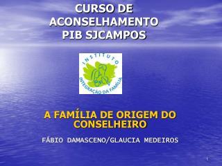 CURSO DE ACONSELHAMENTO  PIB SJCAMPOS