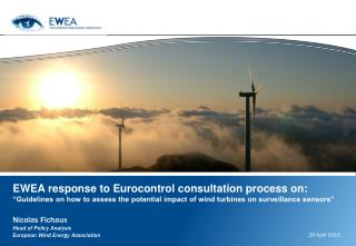 EWEA response to Eurocontrol consultation process on: