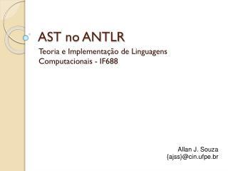 AST no ANTLR