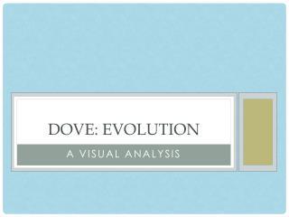 Dove: Evolution