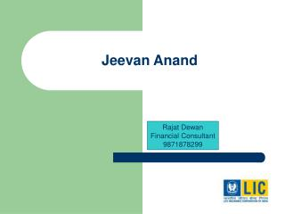 Jeevan Anand