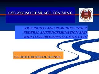 OSC 2006 NO FEAR ACT TRAINING