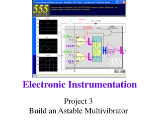 Project 3 Build an Astable Multivibrator