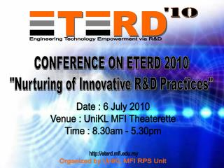 Engineering Technology Empowerment via R&D