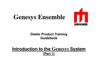 Genesys Ensemble