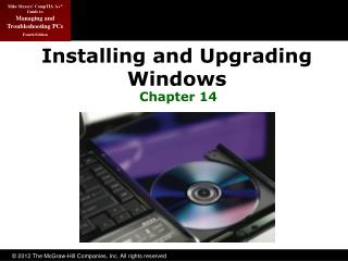 Installing and Upgrading Windows