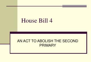 House Bill 4