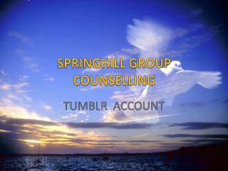 SPRINGHILL GROUP COUNSELLING - Facebook Fan Page
