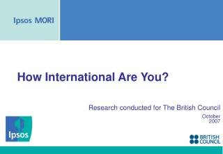 How International Are You?