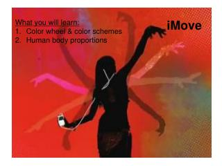 What you will learn: Color wheel & color schemes Human body proportions