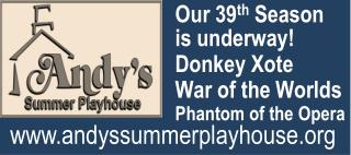 Our 39 th  Season is underway! Donkey  Xote War of the Worlds Phantom of the Opera