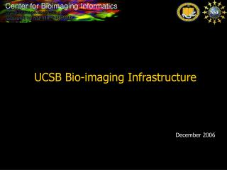 UCSB Bio-imaging Infrastructure