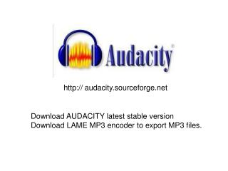 audacity.sourceforge