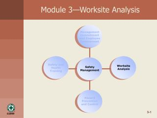 Module 3—Worksite Analysis