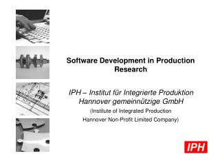 Software Development in Production Research
