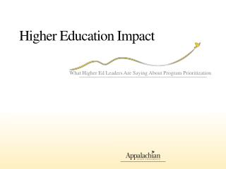Higher Education Impact