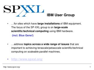IBM User Group