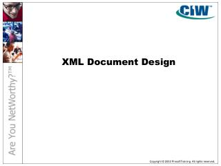 XML Document Design