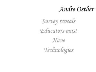 Andre  Osther