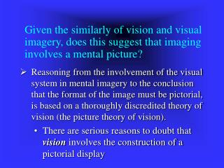 Conscious experience and the picture-theory