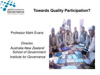 Towards Quality Participation?