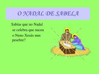 O NADAL DE SABELA