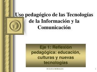 Uso pedagógico de las Tecnologías de la Información y la Comunicación