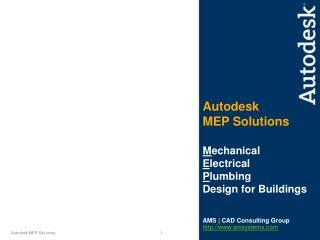 Autodesk MEP Solutions