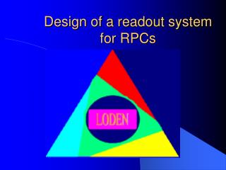 Design of a readout system for RPCs